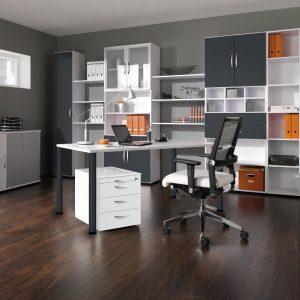Ein strukturiertes Büro