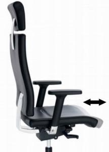 Sitz-Tiefenverstellung