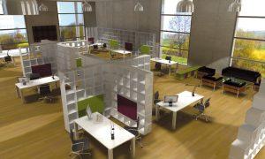 Qubing: Ein modulares Regalsystem für das Büro 1
