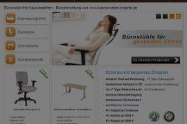 Büromöbel Experte - Neue Suchfunktion