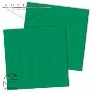Grüne Briefumschläge
