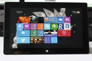 Tablet: Surface