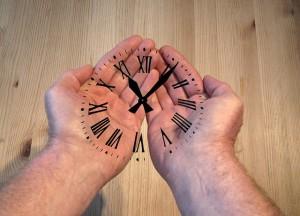 Wenn die Zeit davonrast