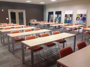 Konferenzstühle im Konferenzzimmer