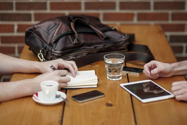 Gespräch im Meeting