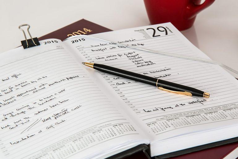 Todo-Liste handschriftlich