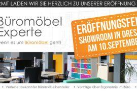 Showroomeröffnung von Büromöbel-Experte