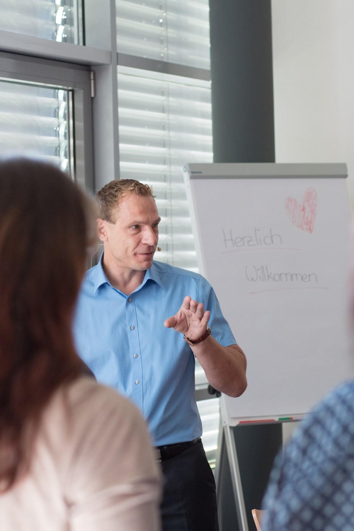 Martin Lauble spricht über die ergonomische Arbeitsplatzgestaltung