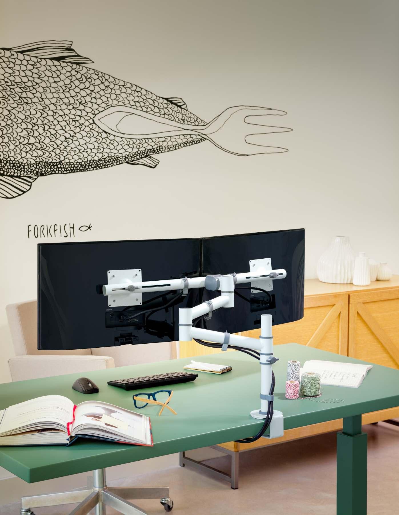 warum sie mit 2 bildschirmen besser arbeiten als mit einem. Black Bedroom Furniture Sets. Home Design Ideas