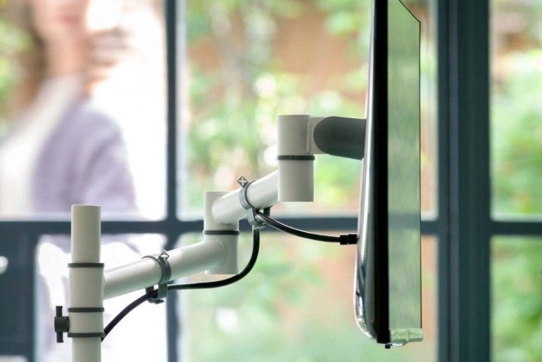 viewgo: Dataflex führt Einsteiger-Monitorarm-Serie ein 1
