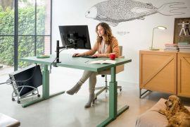 richtige Schreibtischhöhe einstellen