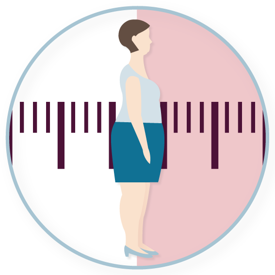 Übergewicht ist oft die Folge von Bewegungsmangel