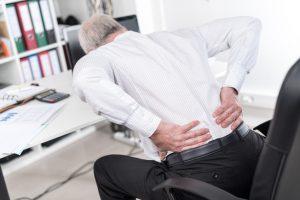 Schmerzen - ausgelöst von der Bandscheibe