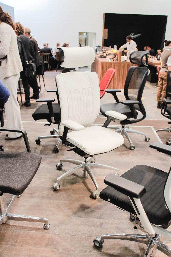 Orgatec 2016: Bürostuhl Weiß