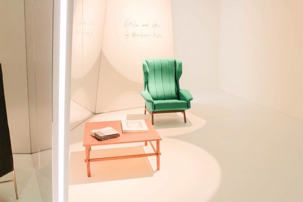 Orgatec 2016: Retro-Stuhl für den Wartebereich