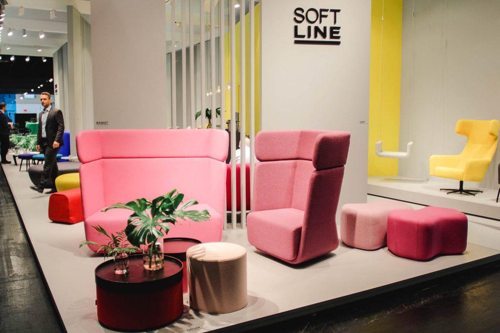 Orgatec 2016: Noch einmal Loungemöbel im Pastell-Look