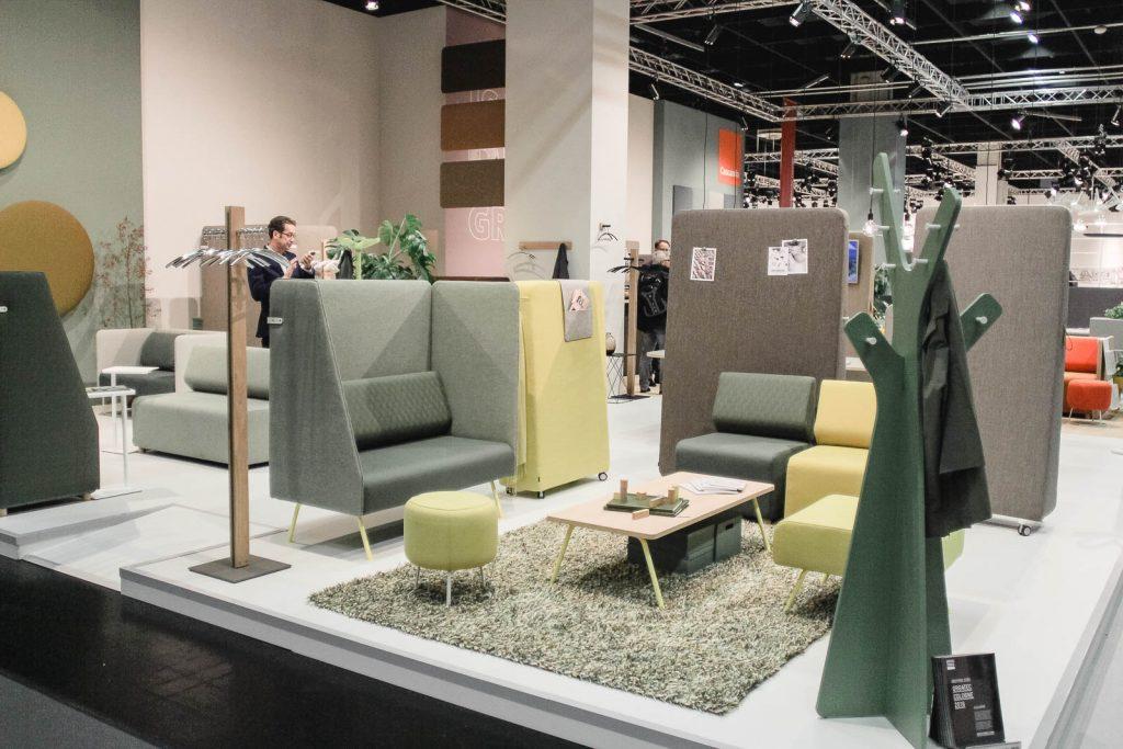 Orgatec 2016: Lounge und Konferenzmöbel