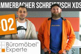 Vorgestellt: Elektrisch höhenverstellbarer Schreibtisch XDSM von Hammerbacher 3