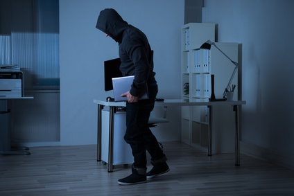 Einbrecher entwedet Notebook und Unterlagen