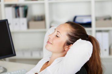 Bewegung für gesunde Büroarbeit wichtig