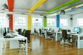 Frische Farben im Büro - so wird es gemütlicher 17