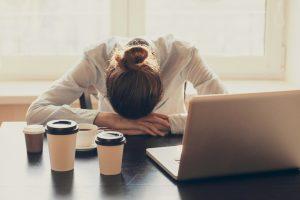 Unzufrieden mit dem Job