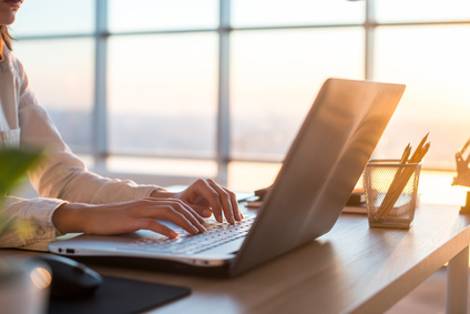 Freelancer im Coworking Space