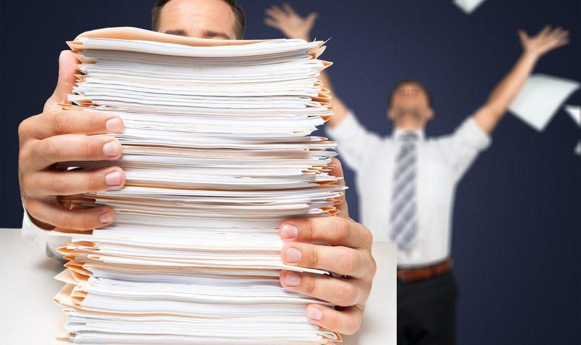Jede Person verbraucht in Deutschland pro Jahr etwa 286 kg Papier. / Foto: BillionPhotos.com / fotolia.com