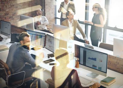In Ihren neuen Büroräumen sollen Sie sich wohl fühlen. / Foto: Rawpixel.com / fotolia.com