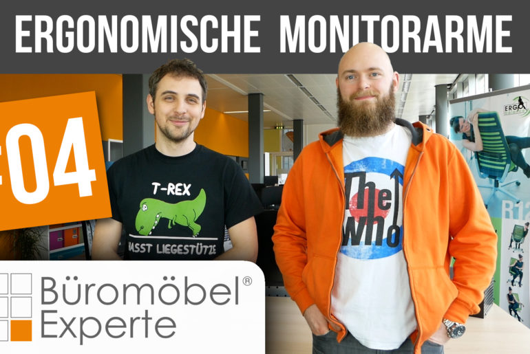 Neues Video: ergonomische Monitorarme 1
