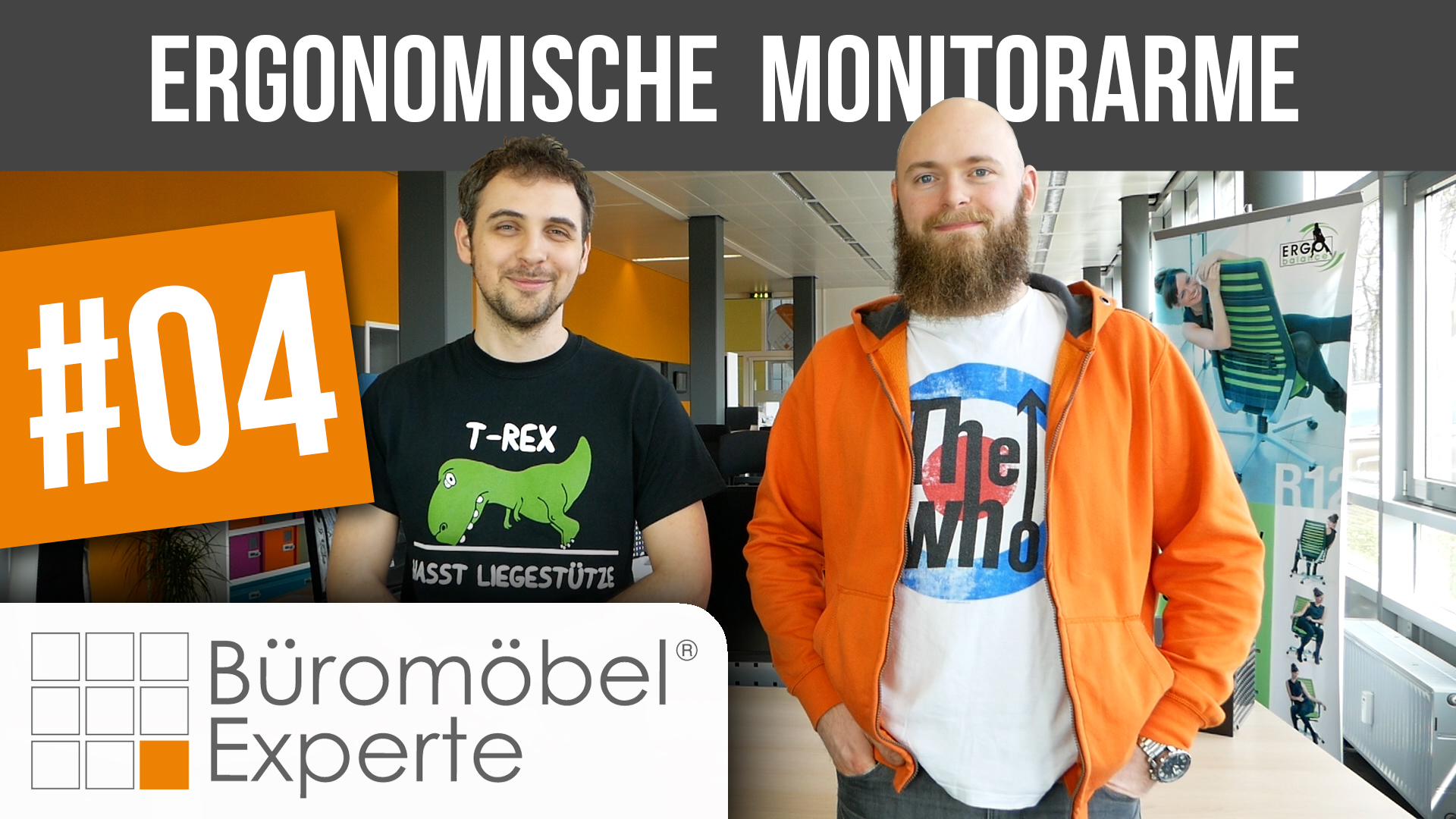Neues Video: ergonomische Monitorarme 2