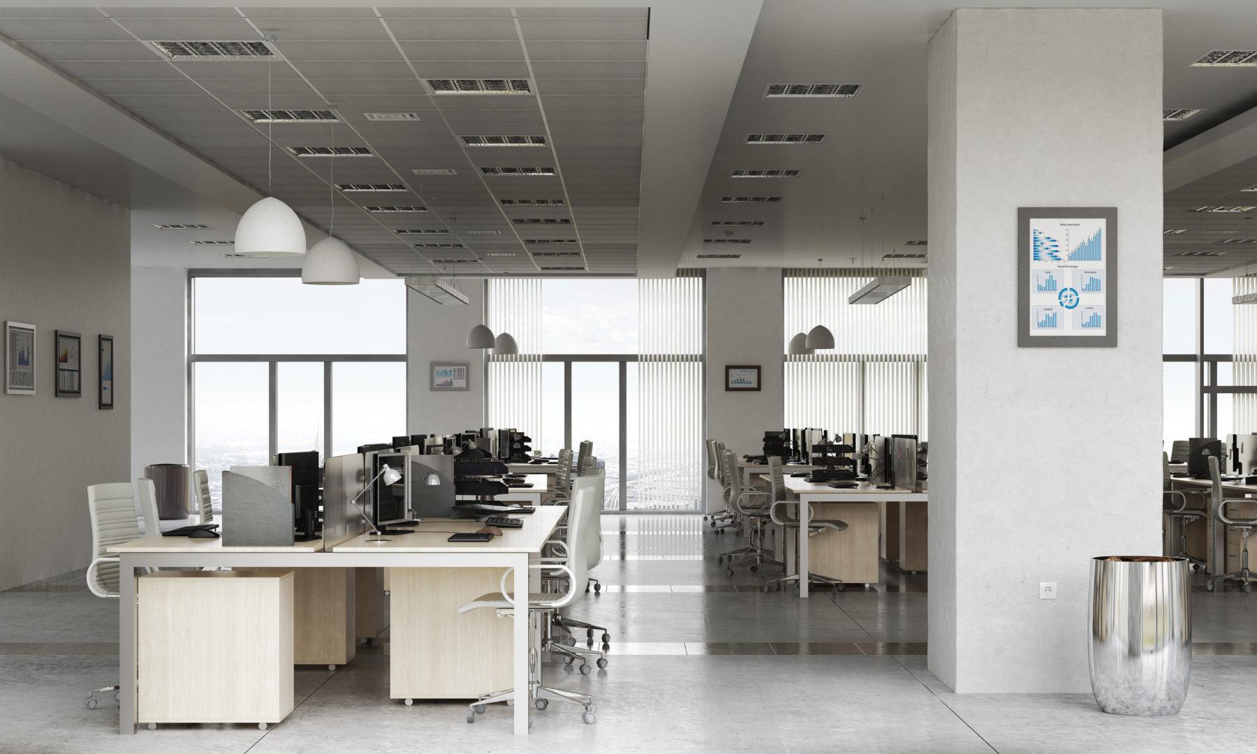 Geplantes Büro