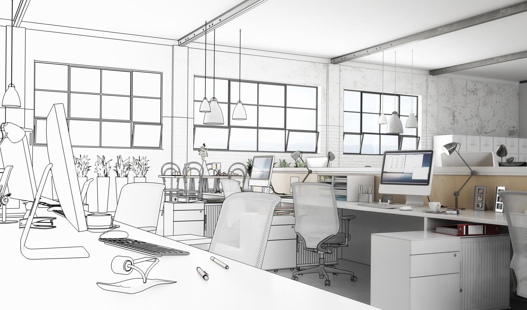 Büroeinrichtung planen  Büro planen lassen: Gute Gründe einen Profi zu beauftragen ...