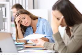 14 schreckliche Fehler, die wir im Büro machen. / Foto: Antonioguillem / fotolia.com