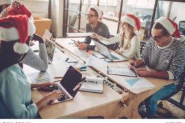20 Ideen für die Weihnachtsdeko im Büro / Foto: Vasyl / fotolia.com