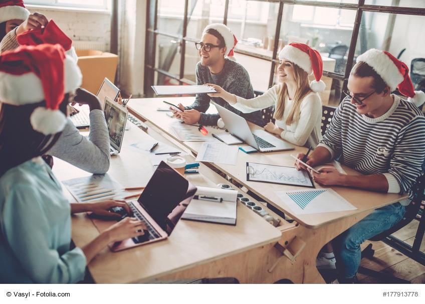20 Ideen für die Weihnachtsdeko im Büro | Büromöbel-Experte ...
