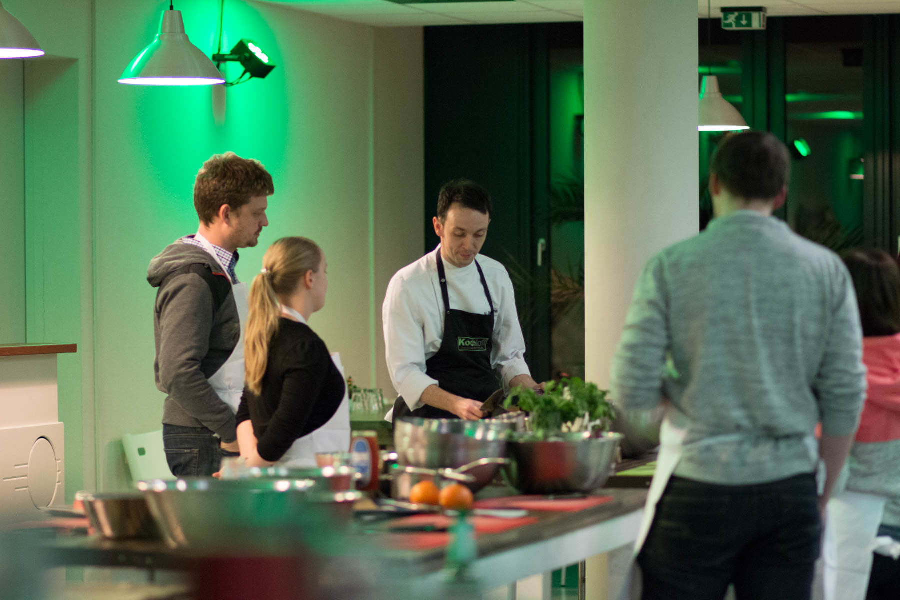 Ein Kochkurs als Teambuilding-Maßnahme