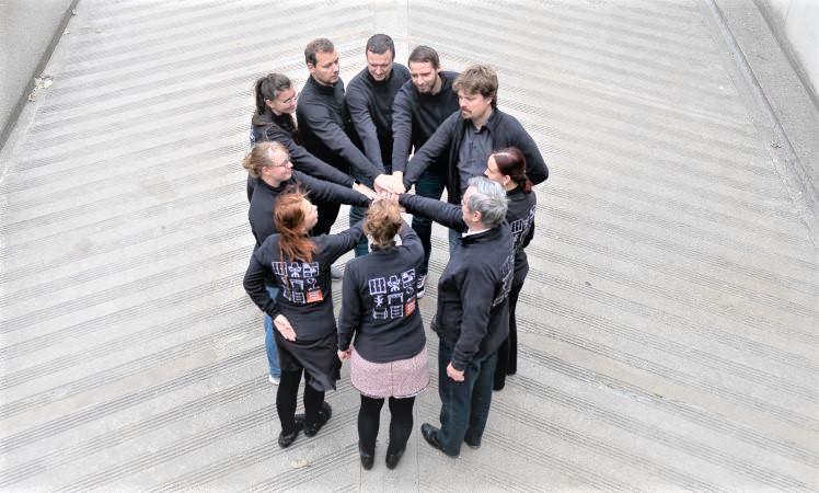 Interne Kommunikation heißt auch als Team zusammen zu kommen.