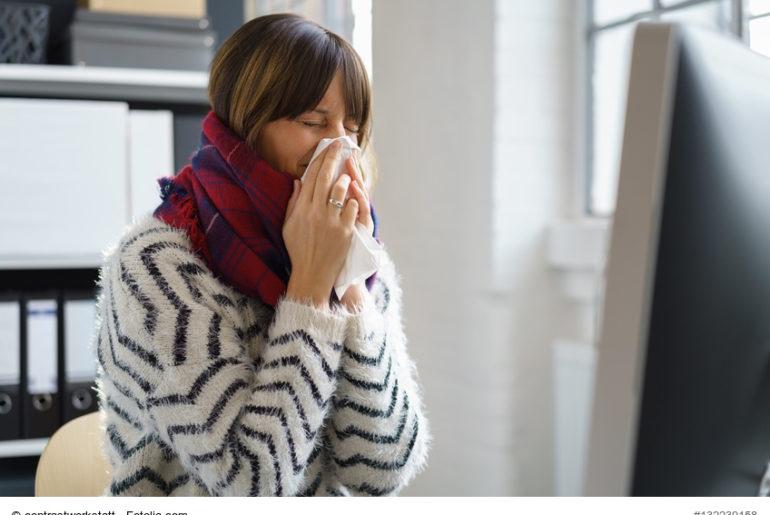 Krank ins Büro - warum krank arbeiten keine gute Idee ist