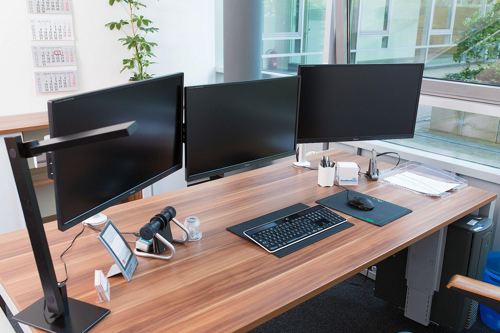 Mit 2 Bildschirmen produktiver & besser arbeiten