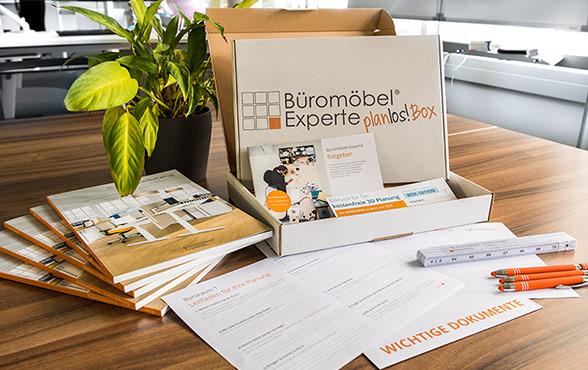 Die planLOS! Box von Büromöbel-Experte