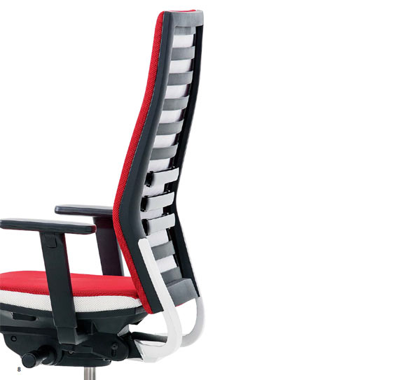 Rovo Chair R12 in Rot